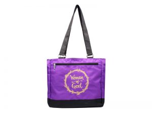 TOTE WOMAN OF GOD  12.5X11.5X6