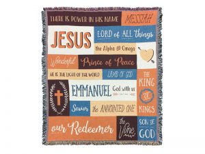 TAPESTRY NAMES OF JESUS 52X60