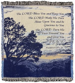 THROW THE LORD BLESS YOU BLUES 50X60