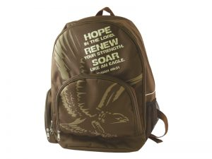 BACK PACK HOPE, RENEW, SOAR (EAGLE)