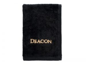 PASTOR TOWEL DEACON BLACK