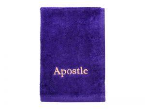 PASTOR TOWEL APOSTLE PURPLE