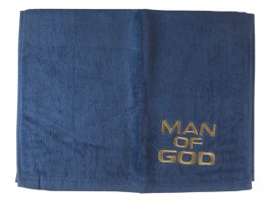PASTOR TOWEL MAN OF GOD NAVY
