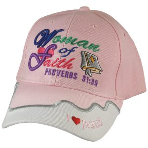 CAP PINK WOMEN OF FAITH