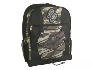BACK PACK CAMO W/BOOTS