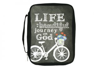 BIBLE COVER CANVAS LIFE…JOURNEY WITH GOD L