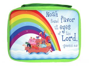 BIBLE COVER CANVAS NOAH'S ARK S