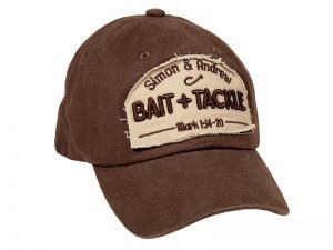 CAP COFFEE/KHAKI BAIT AND TACKLE