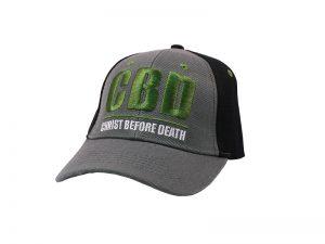 CAP GREEN CHRIST BEFORE DEATH