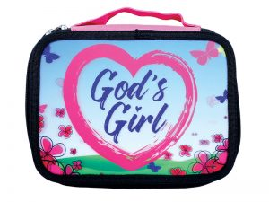 BIBLE COVER CANVAS 3D GOD'S GIRL M