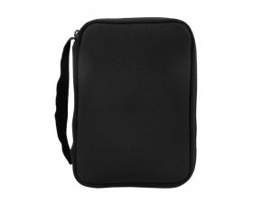 BIBLE COVER NEOPRENE BLACK M