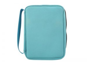 BIBLE COVER NEOPRENE TEAL M