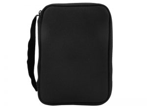 BIBLE COVER NEOPRENE BLACK L