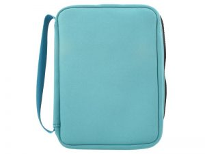 BIBLE COVER NEOPRENE TEAL L