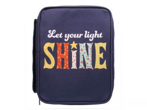 BIBLE COVER CANVAS SHINE M