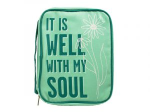 BIBLE COVER – IT IS WELL L