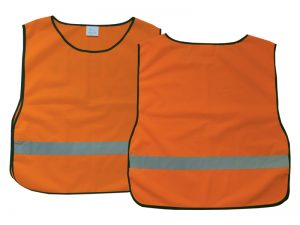 SAFETY VEST ORANGE XL BLANK
