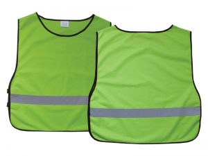 SAFETY VEST GREEN XL BLANK