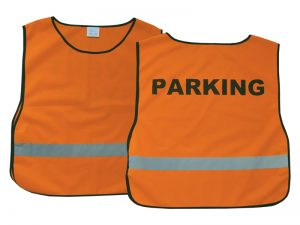 SAFETY VEST PARKING ORANGE XL