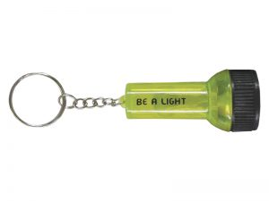 KEYRING BE A LIGHT FLASHLIGHT PK12