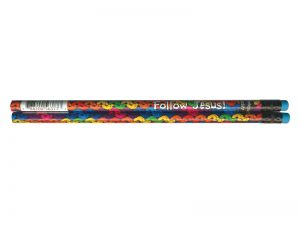 FOLLOW JESUS FOOTPRINTS PENCIL PK72
