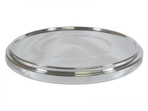 DELUXE COMMUNION CUP TRAY BASE SILVER