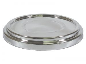 DELUXE COMMUNION BREAD PLATE BASE SILVER