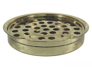 DELUXE COMMUNION CUP TRAY GOLD