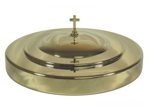 DELUXE COMMUNION CUP TRAY COVER GOLD
