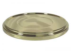 DELUXE COMMUNION CUP TRAY BASE GOLD