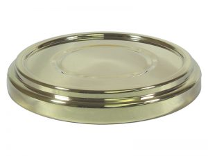 DELUXE COMMUNION BREAD PLATE BASE GOLD