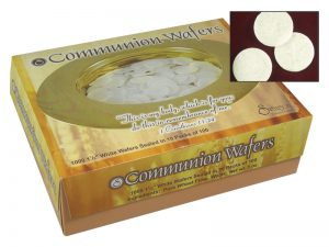 COMMUNION BREAD ROUND WAFERS SWANSON 1000CT