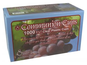 COMMUNION CUPS CLEAR SMALL 1 1/4in 1000CT