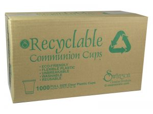 COMMUNION CUPS RECYCLABLE CLEAR FULL SIZE 1 3/8in 1000CT