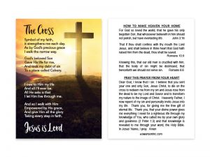 POCKET CARD THE CROSS PK100