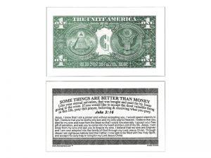 MONEY TRACT ($1.00) 3/100PK