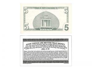 MONEY TRACT ($5.00) 3/100PK