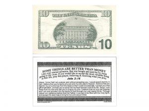 MONEY TRACT ($10.00) 3/100PK