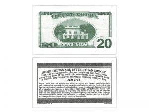 MONEY TRACT ($20.00) 3/100PK