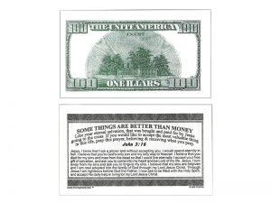 MONEY TRACT ($100.00) 3/100PK