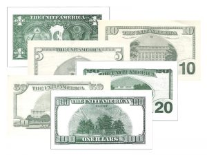 MONEY TRACT ASSORTMENT PK18 (3 EA OF 6 BILLS)