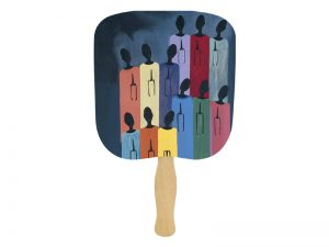 HAND FAN CHOIR PK50