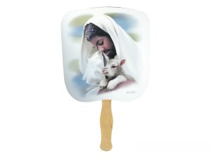HAND FAN THE LOVING SHEPHERD PK50