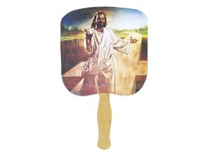 HAND FAN I AM THE WAY PK50