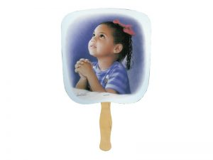 HAND FAN PRAYERFUL PK50