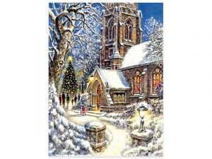 PUZZLE CHURCH IN THE SNOW 1000 PC