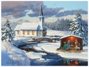 PUZZLE CHURCH NATIVITY 1000 PC