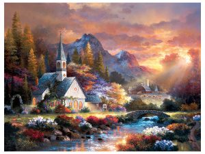 PUZZLE MORNING OF HOPE 500 PC
