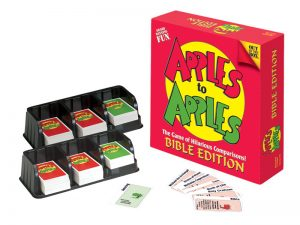 GAME APPLES TO APPLES BIBLE EDITION