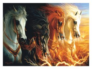 PUZZLE FOUR HORSES OF THE APOCALYPSE 1500PCS
